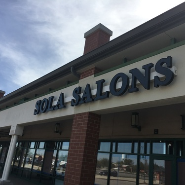 Sola sign kenosha