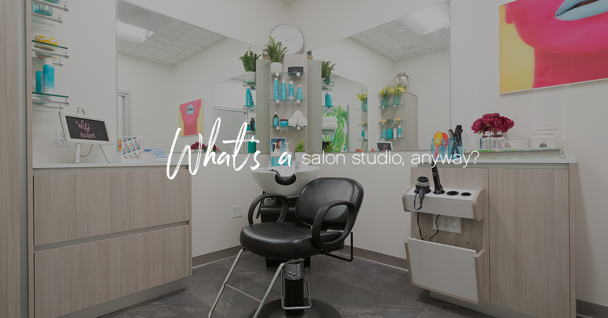 What's a salon studio v2 1