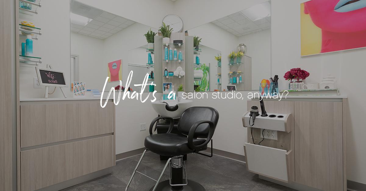What's a salon studio v2 1