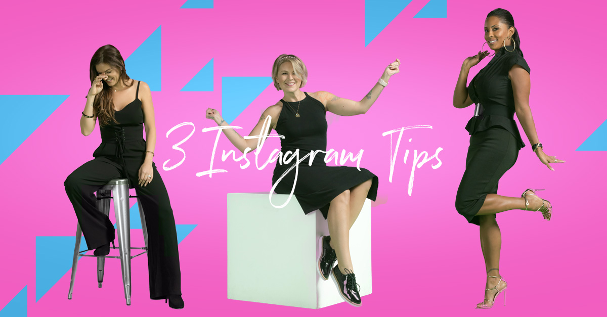3 instagram tips
