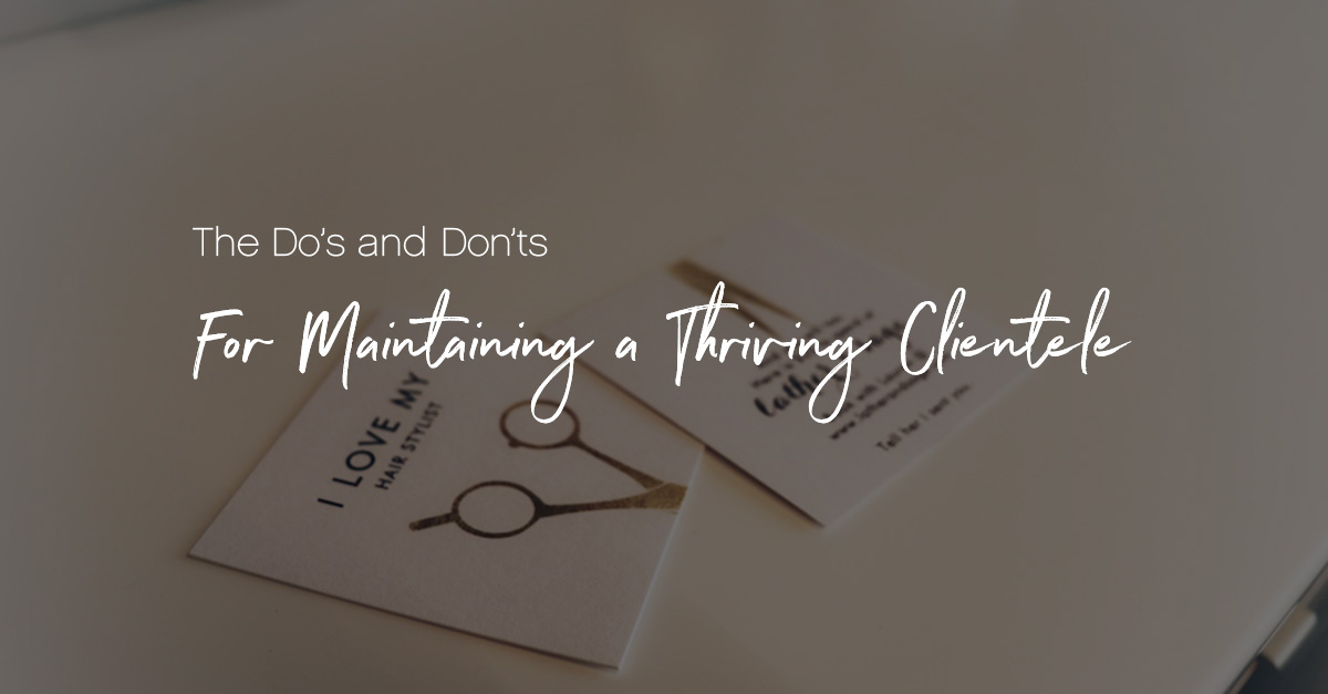 Maintaining a clientele featured image