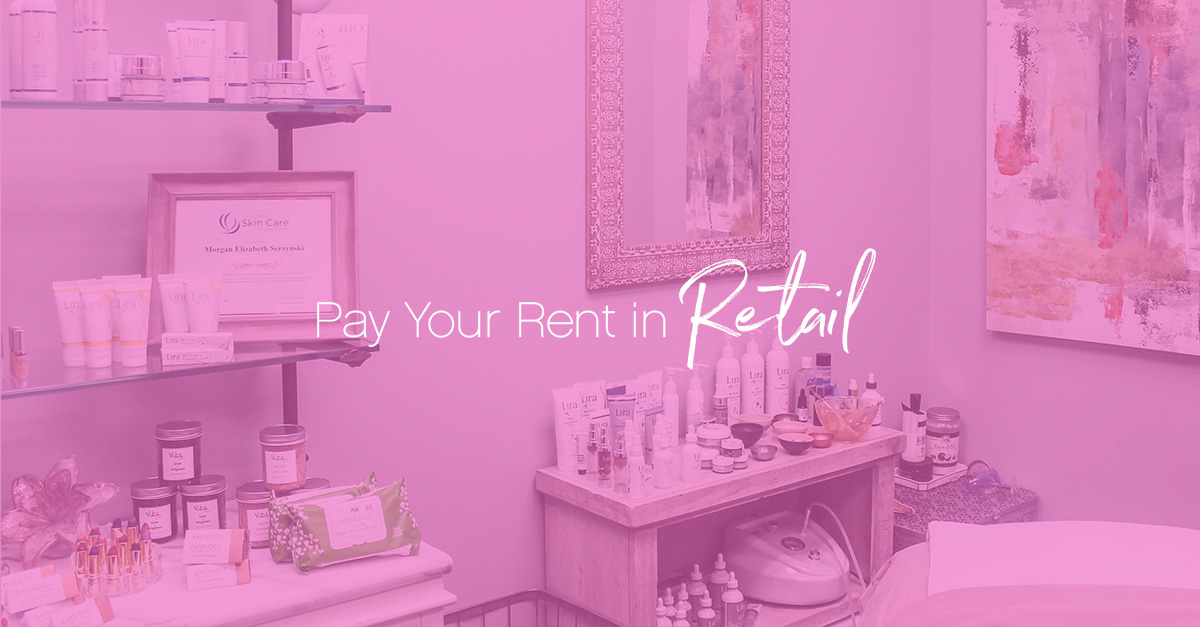 Pay your rent in retail