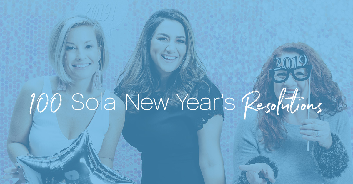 100 sola resolutions featured image