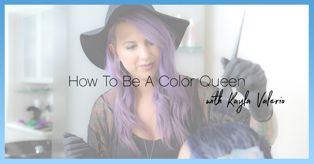 How to be a color queen blog header