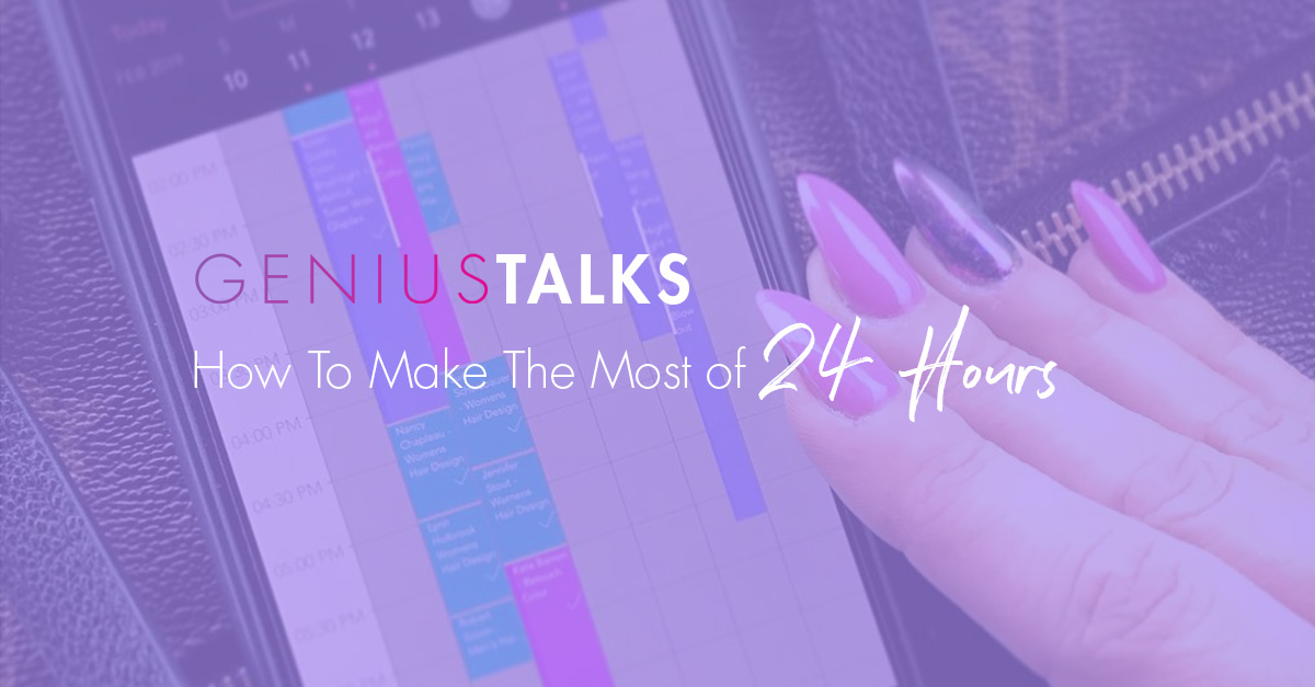 Geniustalks most of 24 hours featuredimage