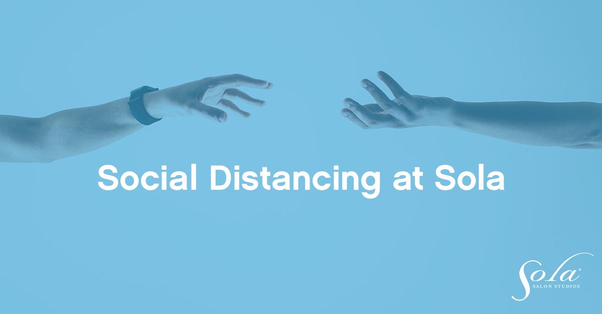 Social distancing at sola