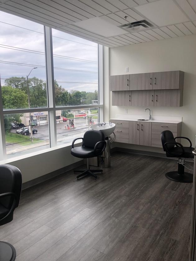 Interior of a salon studio