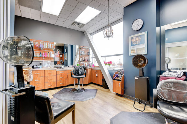 A beautiful studio inside of Sola Salon Studios Southlands in Aurora, Colorado.