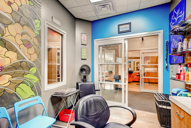 A beautiful studio inside of Sola Salon Studios Southglenn in Centennial, Colorado.
