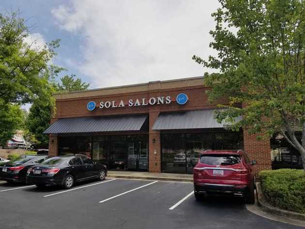 Sola Salons exterior store front at NTCC
