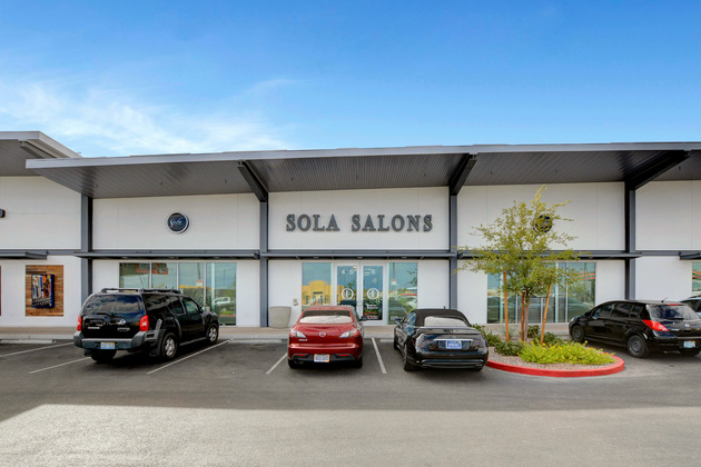 Sola Salon Studios is conveniently located on the southwest corner of Buffalo Drive and Warm Springs Road. #SolaVegas