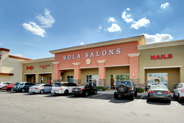 Conveniently locatedon the west side of Ann & 95 in the Centennial Gateway shopping center. In between Trader Joe
