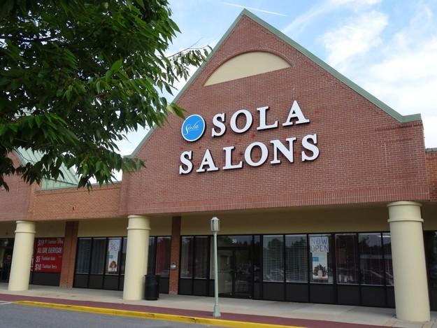 Sola Salon Studios Southdale Shopping Plaza Exterior