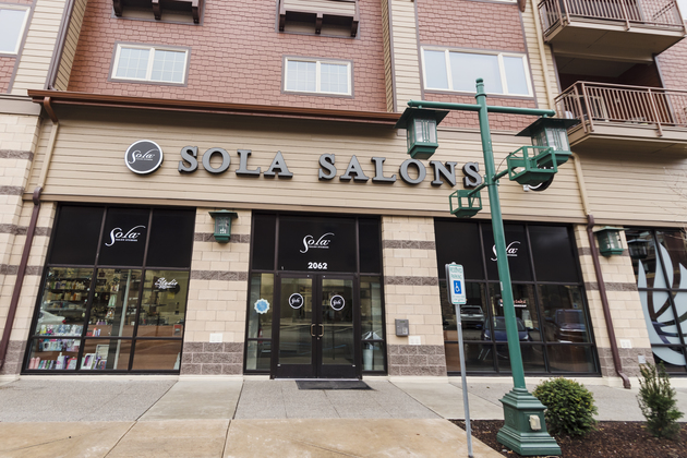 Sola Salon Coeur D Alene, in the Village at Riverstone.