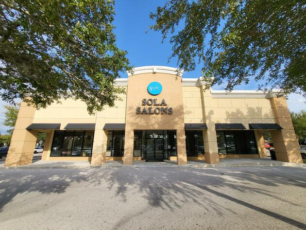 Street view of Sola Salons at Wekiva Square in Altamonte Springs