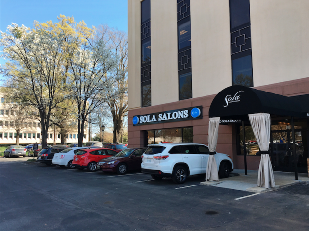 Street view of Sola Salons at Park Road