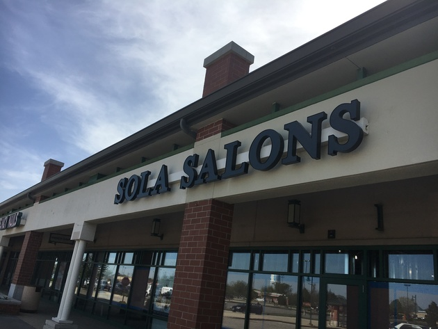 Kenosha Sola Salon Studios is located in the Southport Plaza Shopping Center.