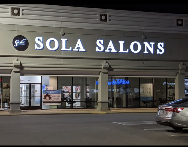Sola Salons is located on the intersection of Bissonnet and Weslayan next door to Torchys Tacos across from Micheal's and Specks.
