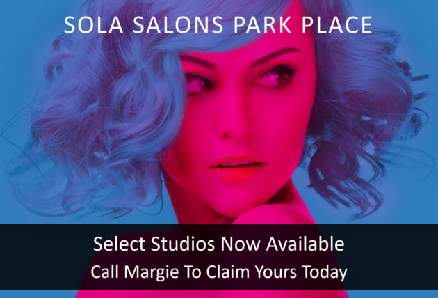"Call to action: ""Select Studios Now Available - Call Margie To Claim Yours Today"""
