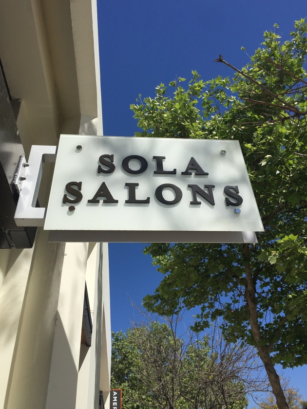 Sola Salon Studios In Pasadena California