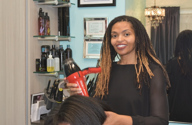 Latisha does natural hair, coloring, cutting - anything you want to look your best.