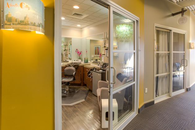 An esthetic Salon Studio at Sola Salon Studios in Cherry Creek, CO.