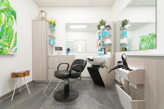 Single suite at Sola Salons