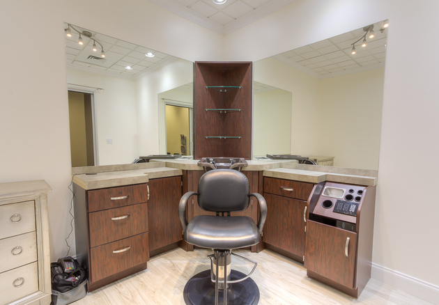 A Salon Studio at Sola Salon Studios in Cherry Creek, CO.