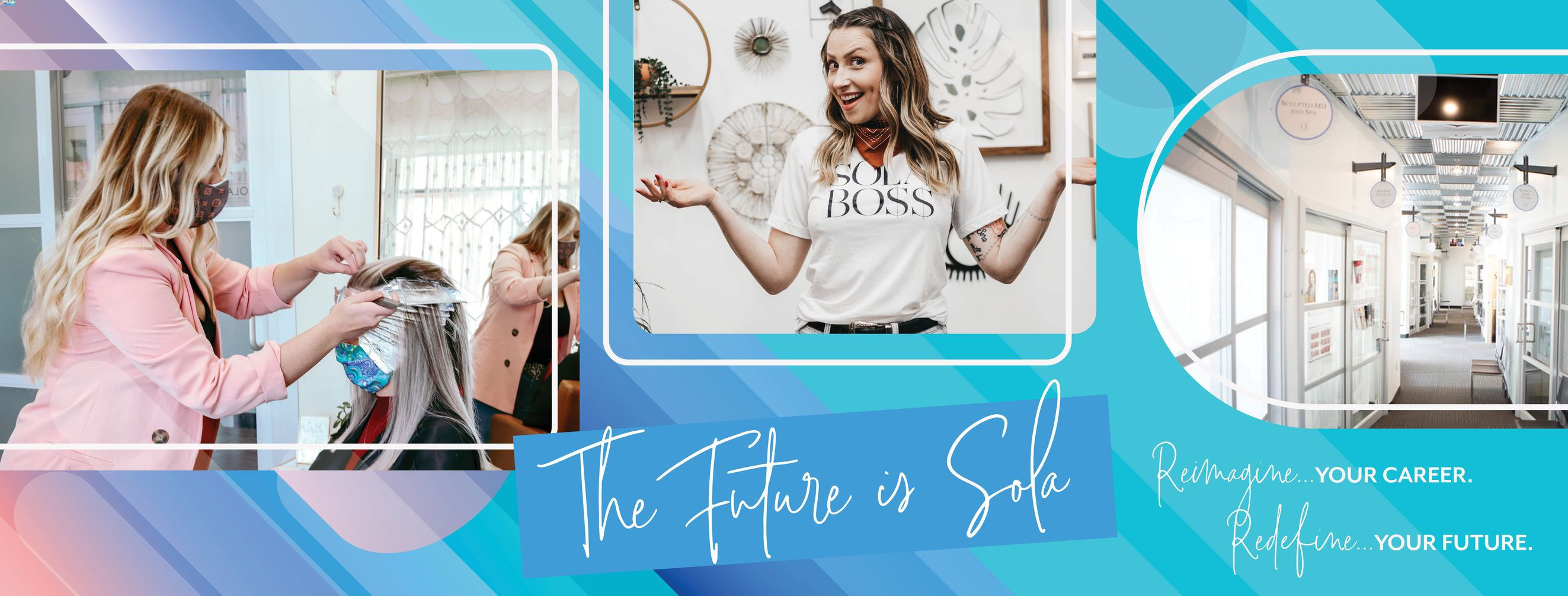 The future is Sola. Reimagine your career. Redefine your future.