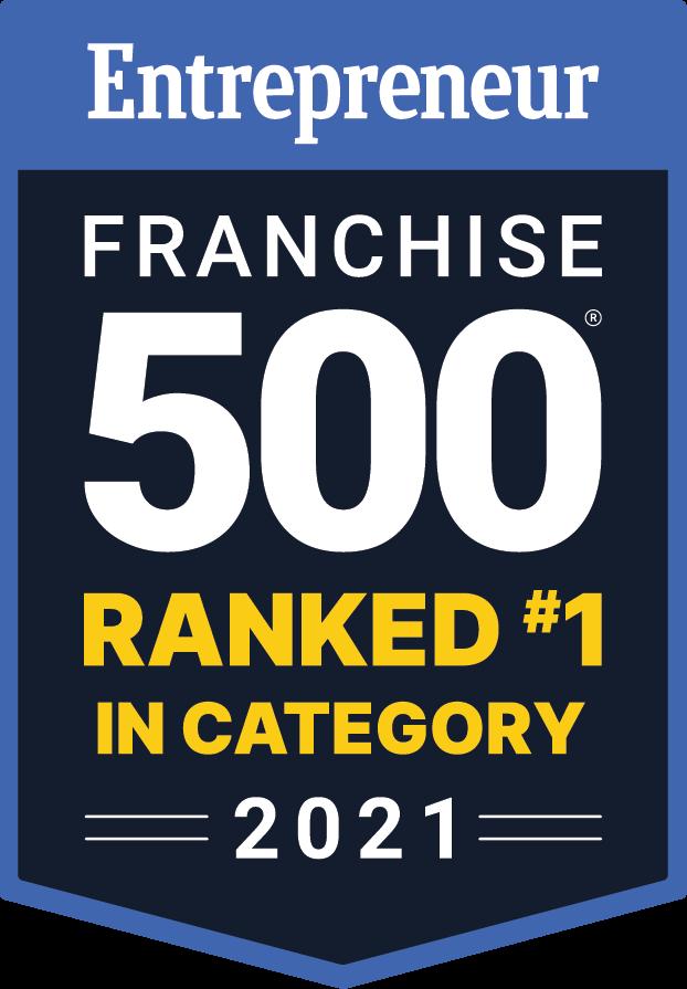 Entrepreneur Franchise 500 Ranked #1 in Category 2020