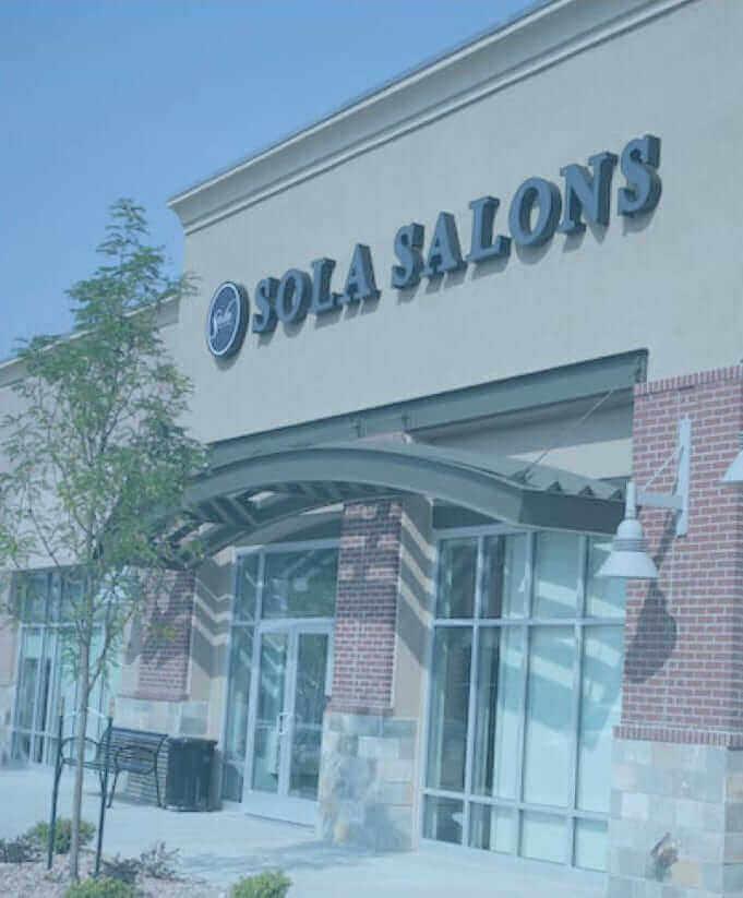 Sola Salons franchise exterior
