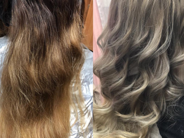Color correction, highlights, smoothing treatement, Bentonville, AR