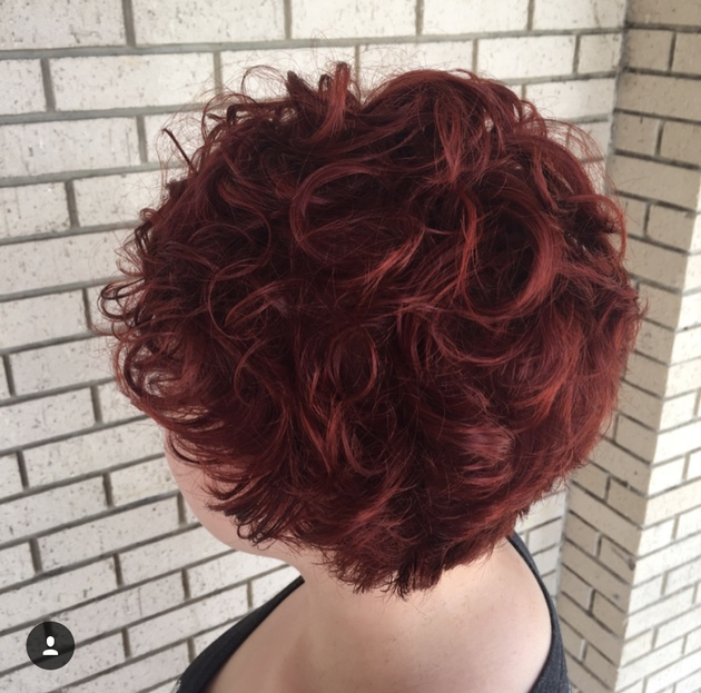 red hair color,