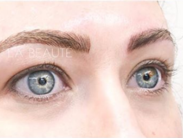 Microblading La Beaute Lounge, eybrow threading, esthetician, eyelash extensions, revive medical spa, fayetteville ar, body sugaring, lash lifts fayetteville ar, makeup artist